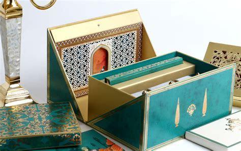 Designer Luxury Invitation Cards & Boxes   GOLD LEAF