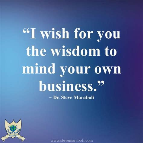 Quotes Mind Own Business