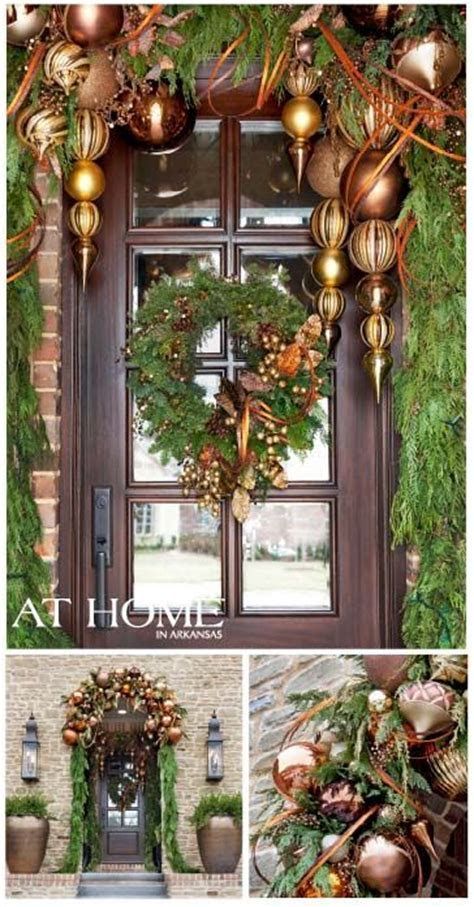 Save A Lot Of Money & DIY Your Christmas Front Door With