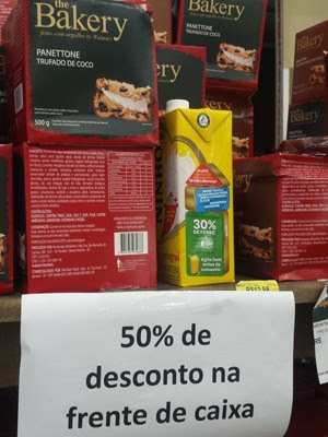supermercado nacional tumulto (Foto: Divulgação/Procon)