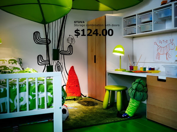 IKEA Kids Rooms Catalog Shows Vibrant and Ergonomic Design ...