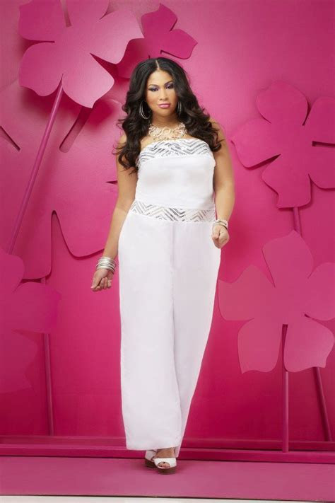 Plus size fashion   All White Party   Pinterest
