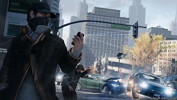 Imagen del videojuego Watch Dogs, de Ubisoft.