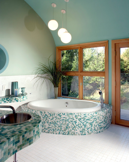 bathroom jade green interior design home photo inspiration