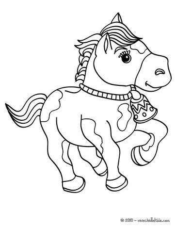 ausmalbilder pferde online kostenlos - zeichnen und färben