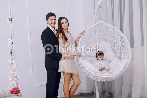 Happy Family Hd Stock Photo Thinkstock