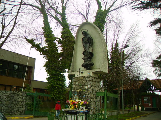 Virgen de Fatima SS.CC. Concepciòn. Hualpèn
