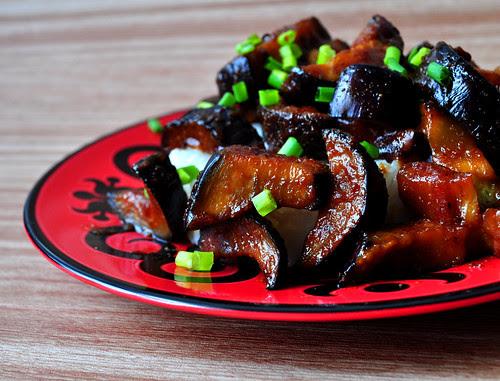 Stirfried eggplant 2