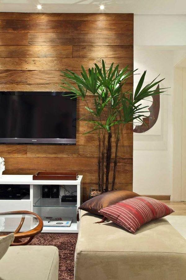 Holzwand Wohnzimmer Selber Bauen | Wohnwand Dekorieren Ideen