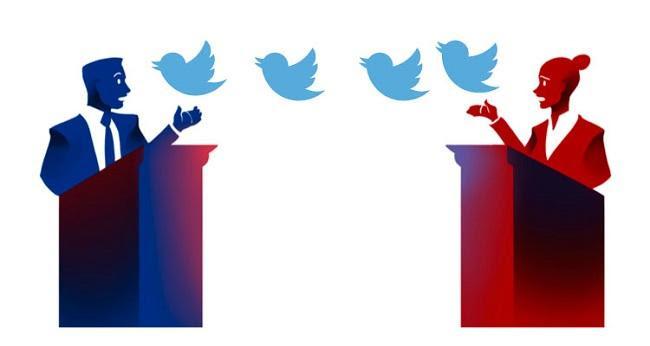 Resultado de imagem para twitter no politica