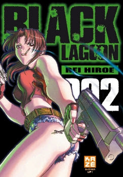 Couverture Black Lagoon, tome 02