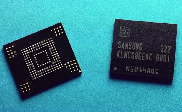 DNP Samsung develops superfast embedded memory, first with eMMC 50