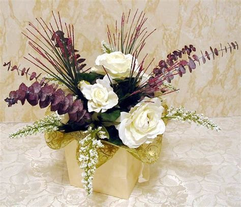 Artificial Wedding Centerpiece Flowers   Budget Wedding
