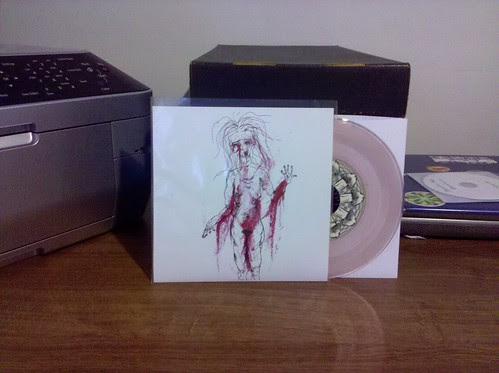 "Young Governor - Bedtime Stories 7"" - Clear Pink Vinyl by factportugal"