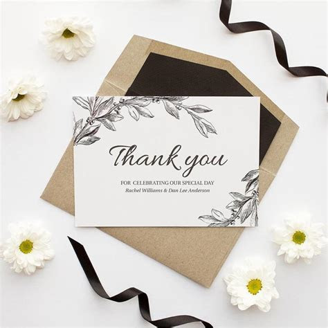5 Tips for Writing your Wedding Thank You Cards   Modern