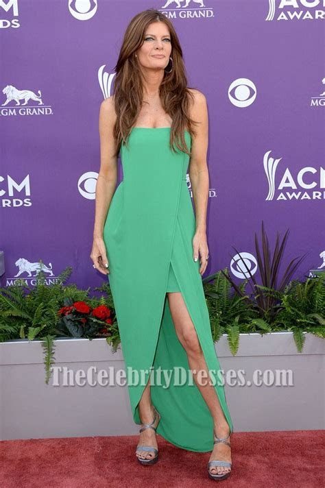 Michelle Stafford Green Formal Party Dress 48th Annual