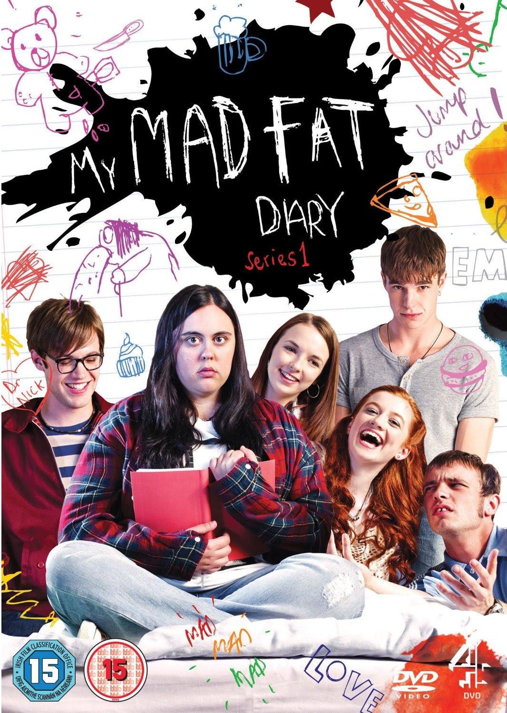 Resultado de imagen de portada de la serie my mad fat diary