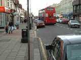 a view of Barkingside High Street