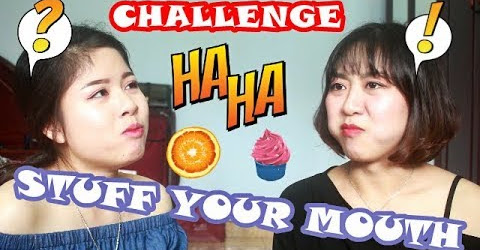 [CHALLENGE] STUFF YOUR MOUTH - Thử thách mệt mỏi - Tuyetekong ft.Huyenbalan