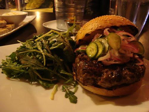 The Tripel's Lamb Burger