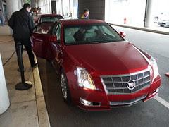 Cadillac at New England Auto Show