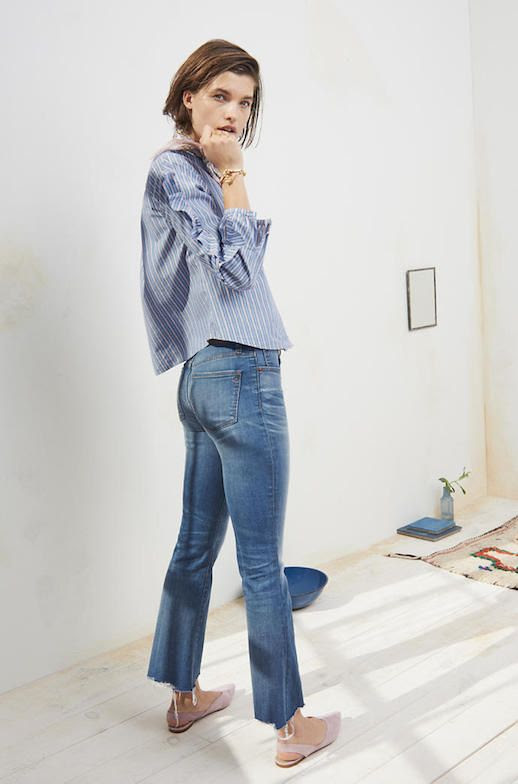 Le Fashion Blog How To Find The Best Jeans For Your Body Shape Via Madewell