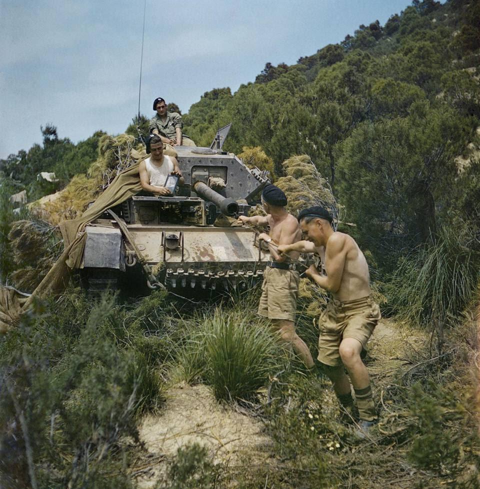 Manutenzione di un tank