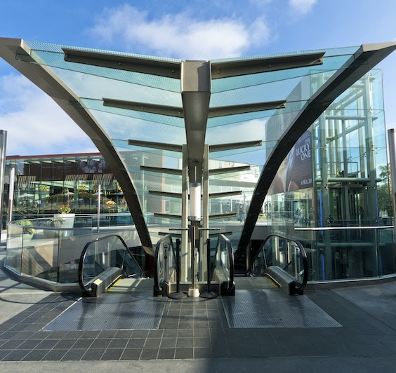 Santa Monica Place Leed Gold Certified Open Air Shopping Plaza