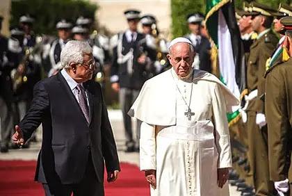 Mahmoud Abbas, Pope Francis