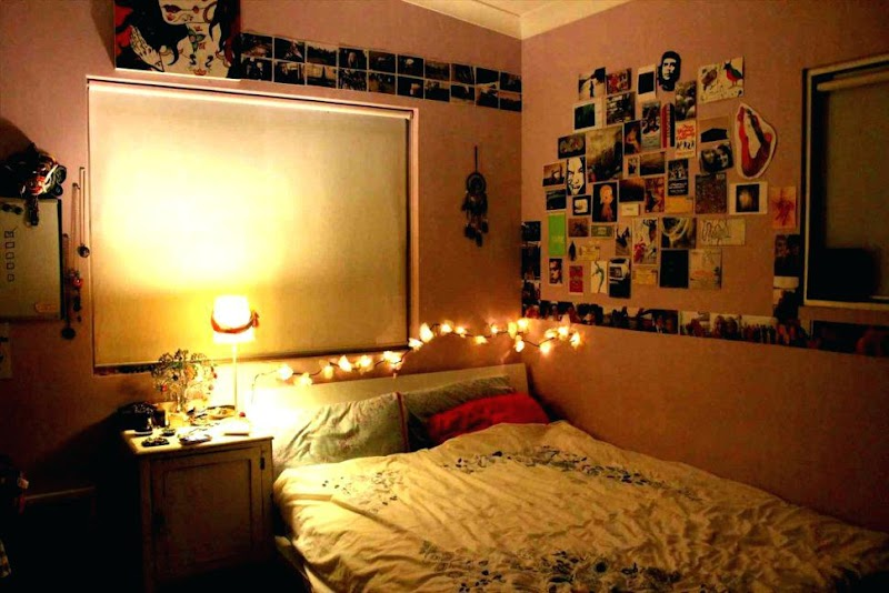 Trends For String Lights Bedroom Fairy Light Ideas pictures