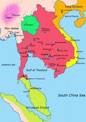 Khmer Empire c. 900 CE (Javierfv1212)