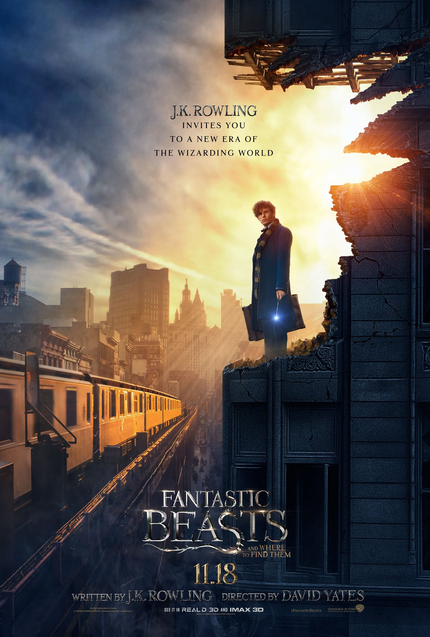 Resultado de imagem para fantastic beasts and where to find them posters