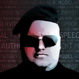 Kim Dotcom, o fundador do Megaupload (Reprodução Twitter) (Foto: Kim Dotcom, o fundador do Megaupload (Reprodução Twitter))