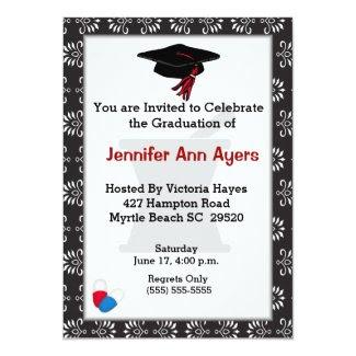 Custom Pharmacist Graduation Invitation