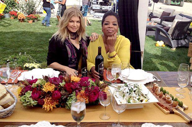 Oprah's Next Chapter (2012), Fergie, Oprah Winfrey