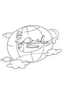 【Le plus recherché】 Coloriage à Imprimer Avion