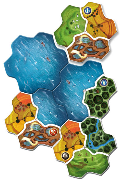 Fichas de Small World: Realms