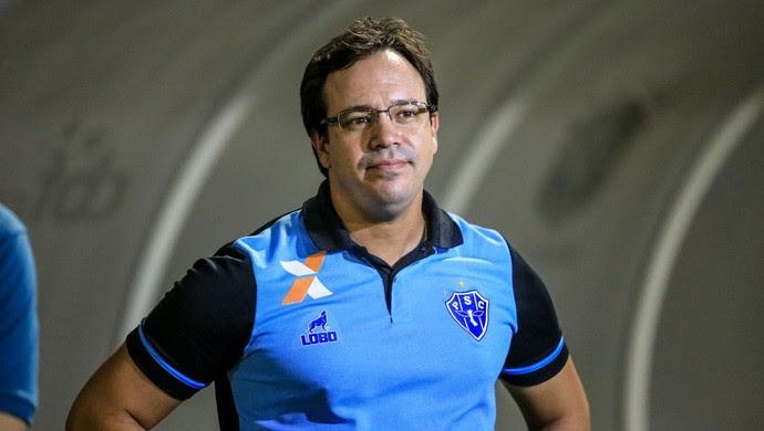 Dado Cavalcanti, técnico do Paysandu (Foto: Ailton Cruz/Gazeta de Alagoas)