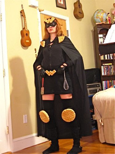 The Waffler - Super Hero Costume