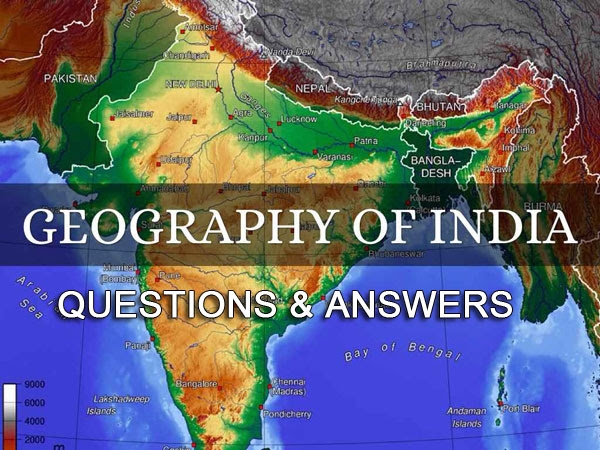 Indian Geography General Knowledge Questions and Answers ...