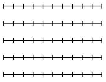 Blank Number Line. Blank Number Line Printable Value Place Value ...