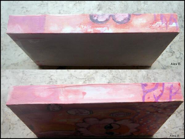 mixed media art box gufetto