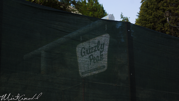 Disneyland Resort, Disney California Adventure, Grizzly, Peak, Airfield, Sign, Refurbishment, Refurbish, Refurb, Condor, Flats