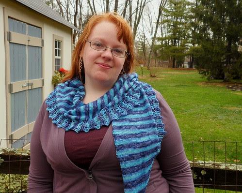 Joyuna Joy Gerhardt Designs knitting Appleby Scarf