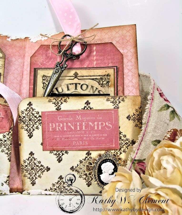 Easter Sewing Pocket Folder 05
