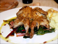 Pan-roasted Quail with Sage and Speck 4