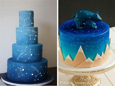 Wedding Online   Cakes   10 ways to nail the new galaxy