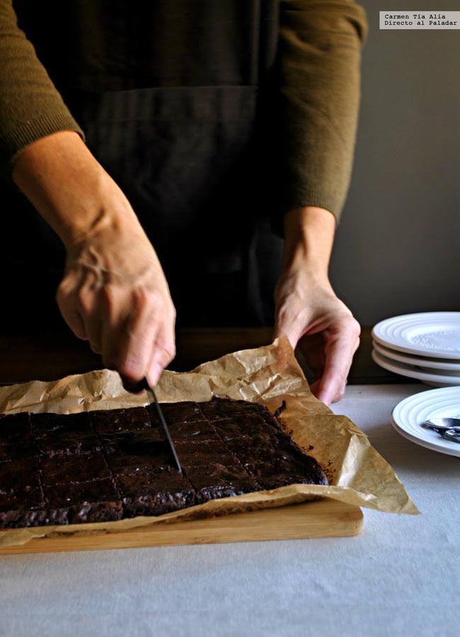 brownie de aguacate