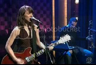 Feist on Late Night With Conan O'Brien