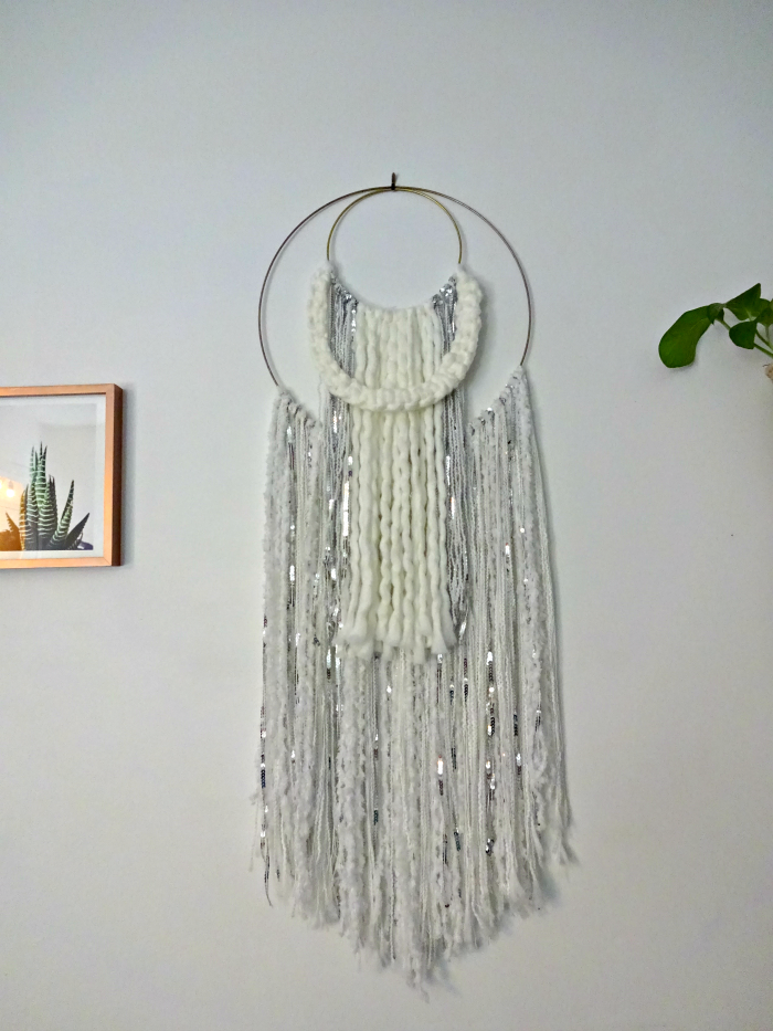 handmade moroccan wedding blanket wall hanging